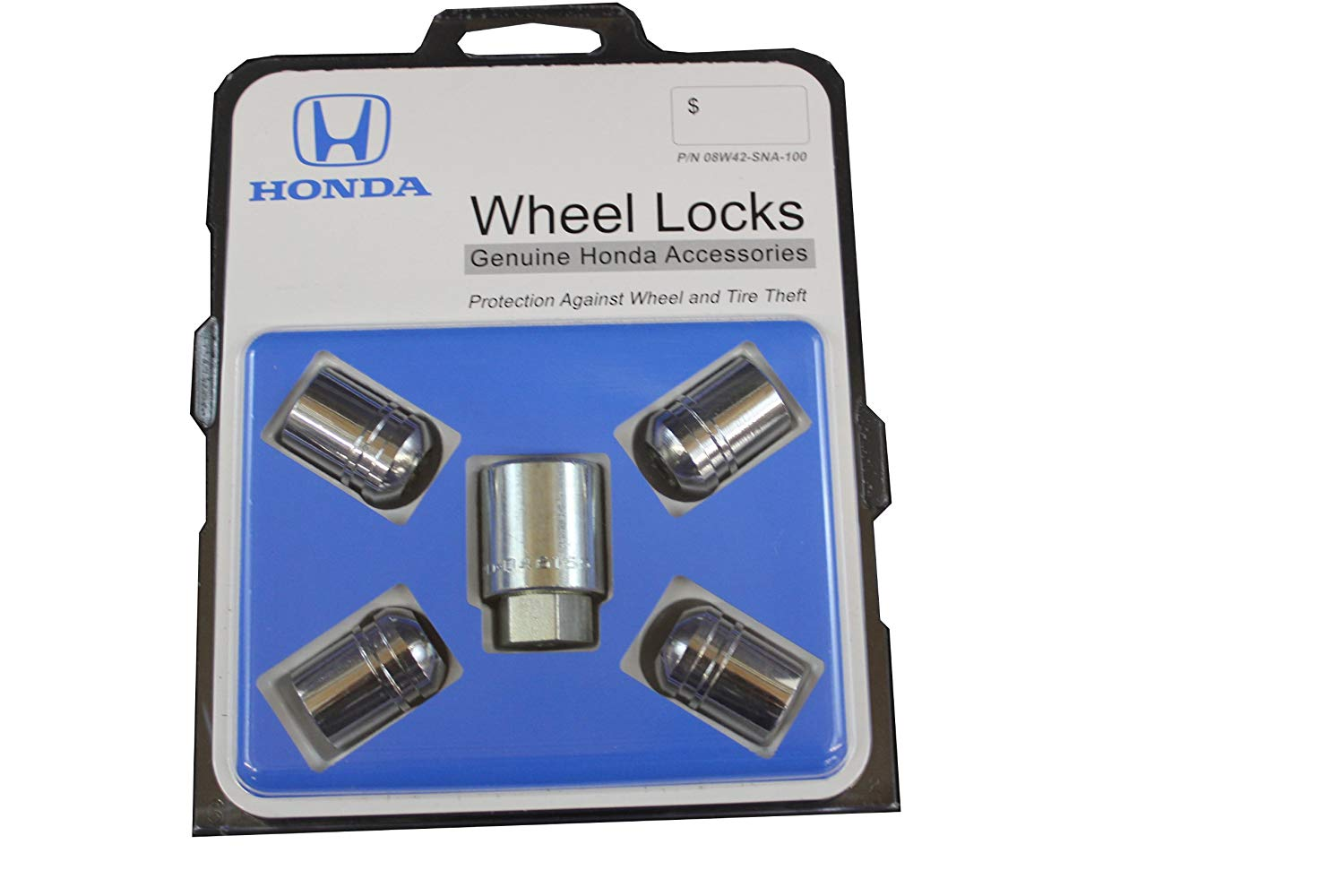 Honda Genuine Wheel Lock 08W42-SNA-100