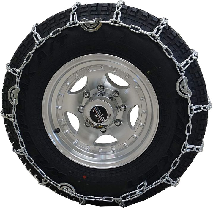 Twist Link Tire Chain for Trucks and SUVs