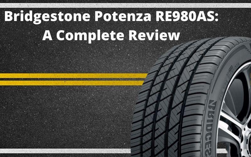 Bridgestone Potenza RE980AS Header